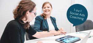 1-zu-1 Social Ads Coaching Boost my Business