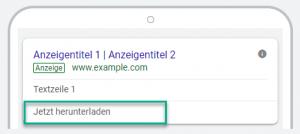 App Erweiterung Google