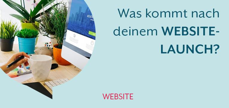 Aufgaben nach dem Website-Launch