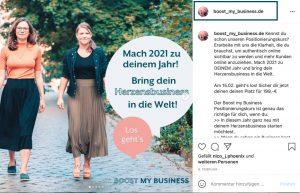 Dein Instagram Nutzername in deinen Posts