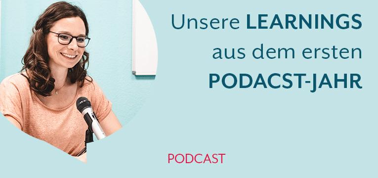 Learnings aus unserem ersten Podcast-Jahr