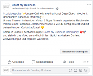 Facebook Textposts