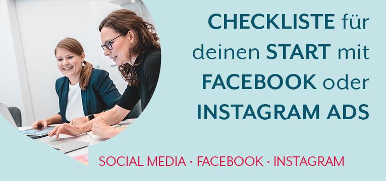 Tipps für deinen Start mit Facebook oder Instagram Ads